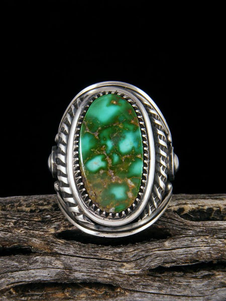 Royston Turquoise Sterling Silver Ring, Size 11
