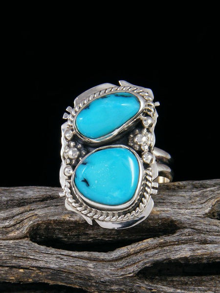 Sleeping Beauty Turquoise Ring, Size 5