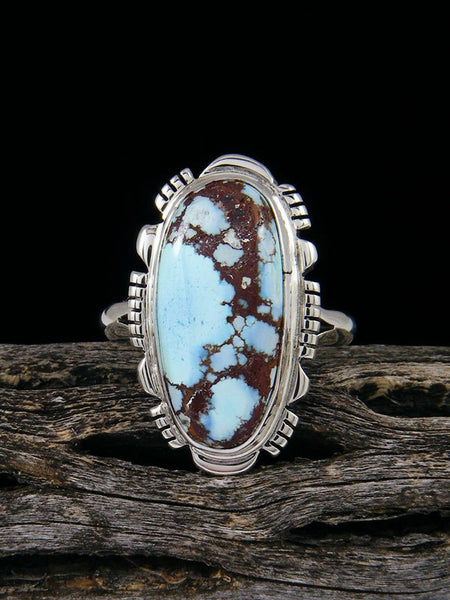 Golden Hill Turquoise Ring, Size 8 1/2