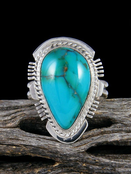 Sierra Nevada Turquoise Ring, Size 9