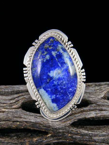 Blue Lapis Ring, Size 7
