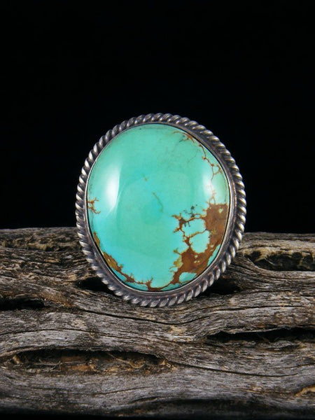Navajo Turquoise Ring, Size 9 1/2