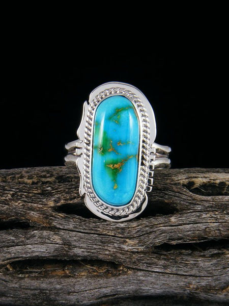 Sonoran Gold Turquoise Ring, Size 8 1/2