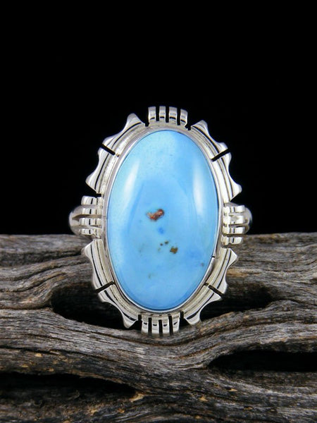 Golden Hill Turquoise Ring, Size 6