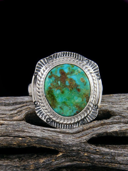 Dry Creek Turquoise Ring, Size 6 1/2
