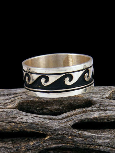 Sterling Silver Overlay Ring, Size 10