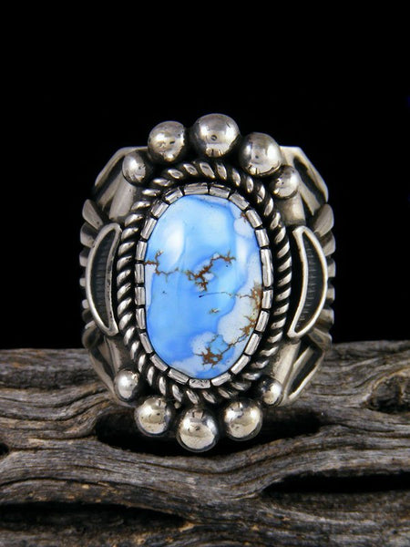 Golden Hill Turquoise Ring, Size 11 1/2