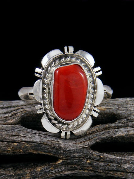 Coral Ring, Size 10