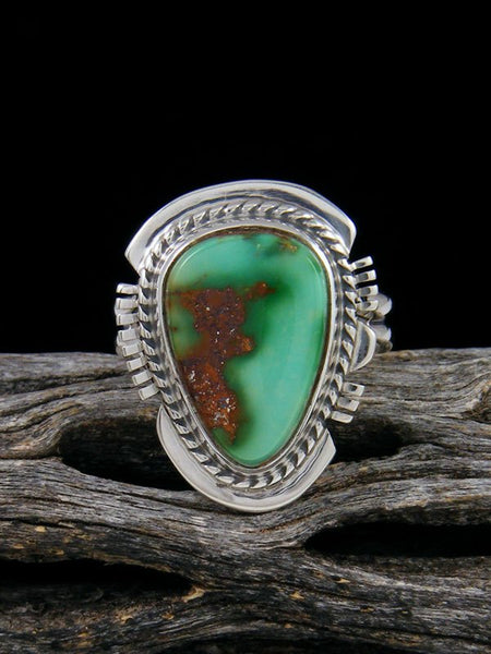 Emerald Valley Turquoise Ring, Size 7 1/4