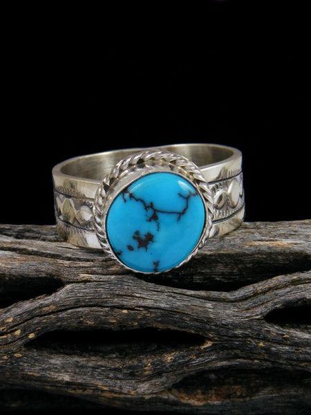 Egyptian Turquoise Ring, Size 12