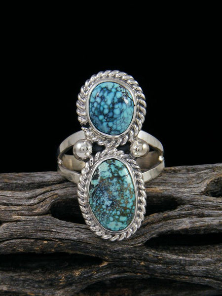 Blue Moon Turquoise Ring, Size 7 1/4