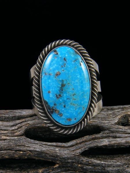 Native American Turquoise Ring, Size 9 1/4
