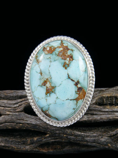 Golden Hill Turquoise Ring, Size 7 3/4