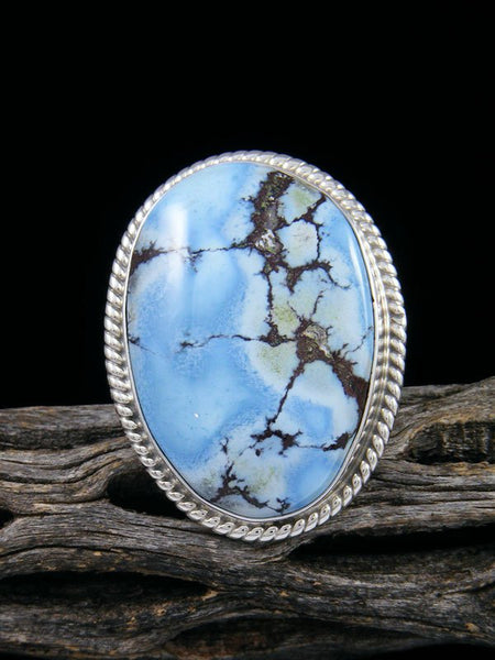Golden Hill Turquoise Ring, Size 7
