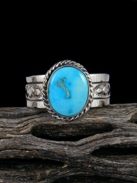 Sleeping Beauty Turquoise Ring, Size 12