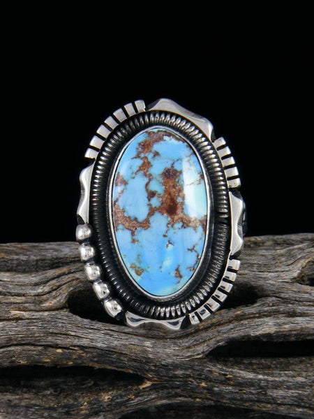 Golden Hill Turquoise Ring, Size 6 1/2