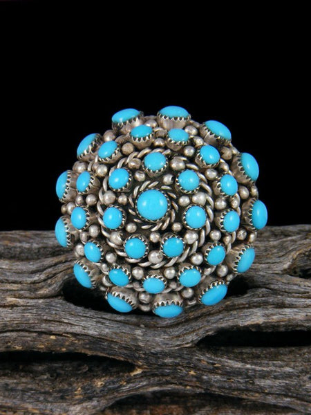Zuni Turquoise Ring, Multiple Sizes
