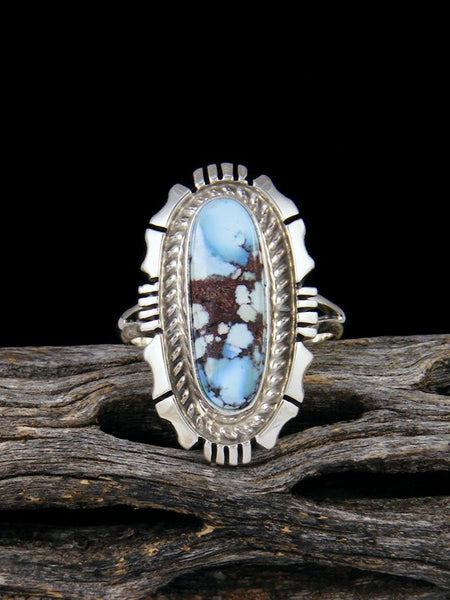 Golden Hill Turquoise Ring, Size 7 1/2