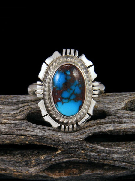 Egyptian Turquoise Ring, Size 10