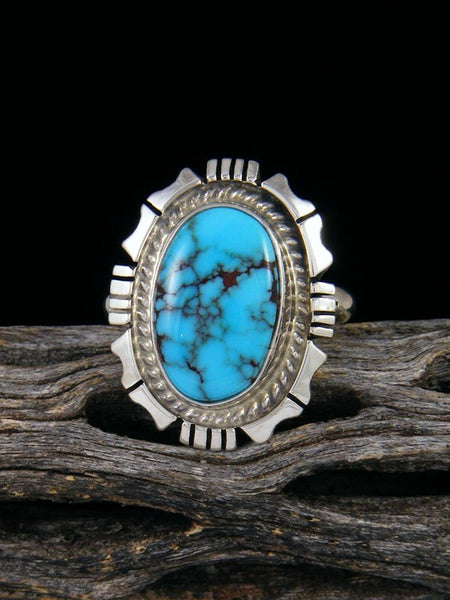 Egyptian Turquoise Ring, Size 8