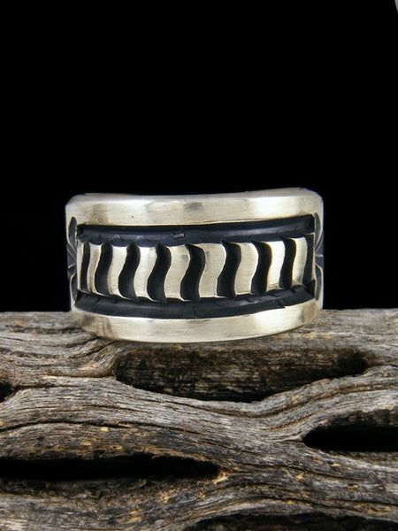 Navajo Sterling Silver Ring, Size 7.5