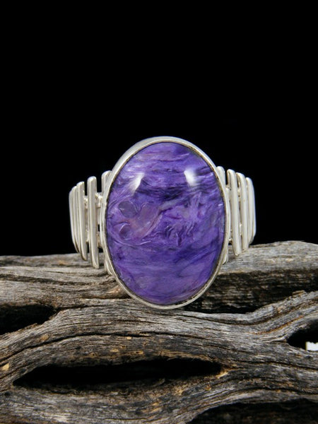 Charoite Ring, Size 7