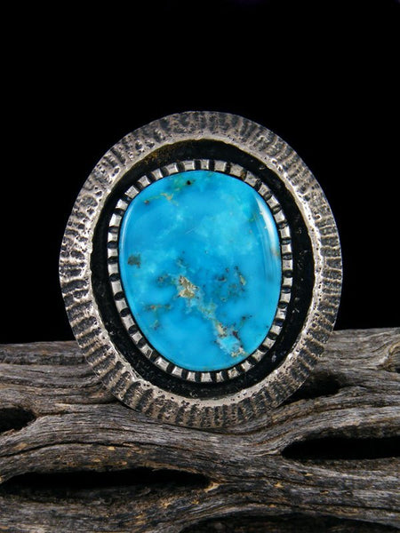 Morenci Turquoise Ring, Size 9