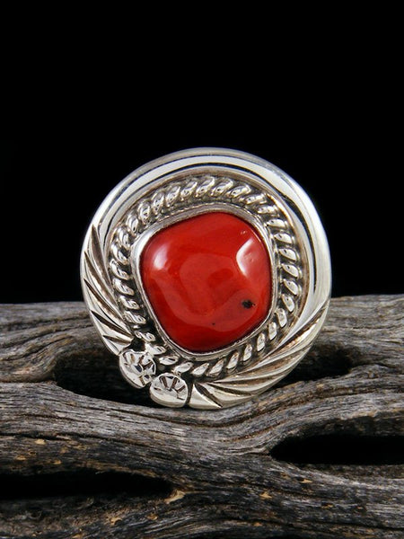 Coral Ring, Size 6