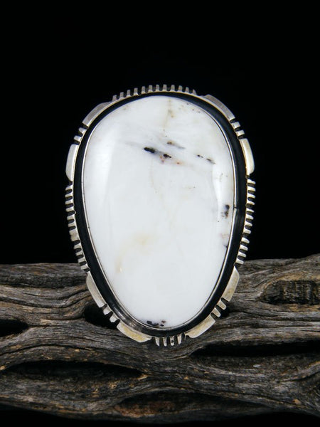 White Buffalo Ring, Size 9