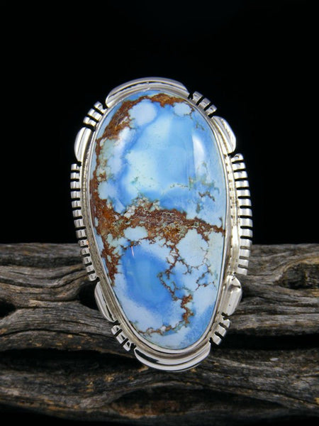 Golden Hill Turquoise Ring, Size 9
