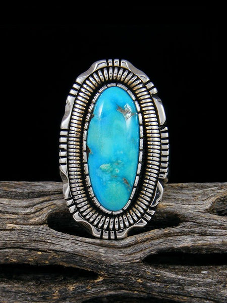 Sonoran Rose Turquoise Ring, Size 6