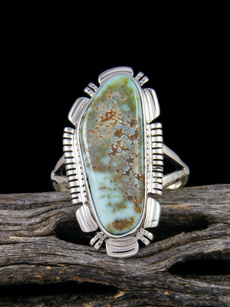 Dry Creek Turquoise Ring, Size 8 1/2