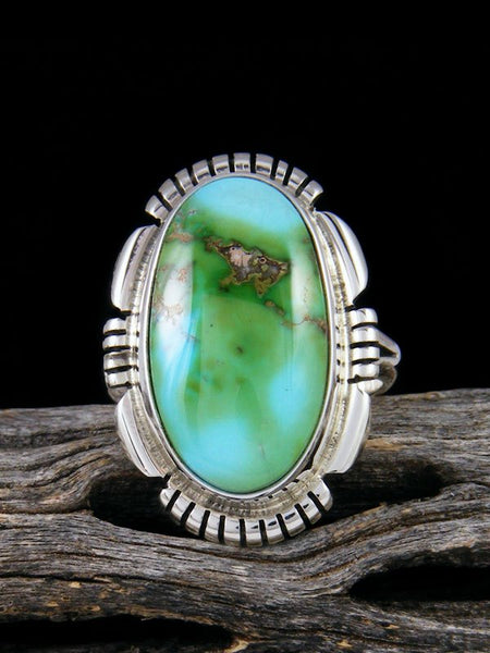 Sonoran Gold Turquoise Ring, Size 6 1/2