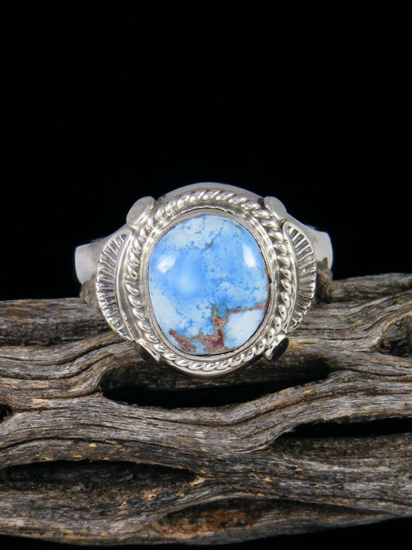 Golden Hill Turquoise Ring, Size 13