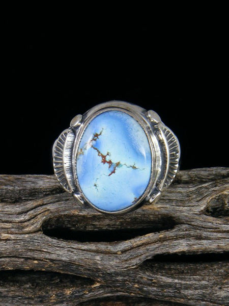 Golden Hill Turquoise Ring, Size 8 3/4