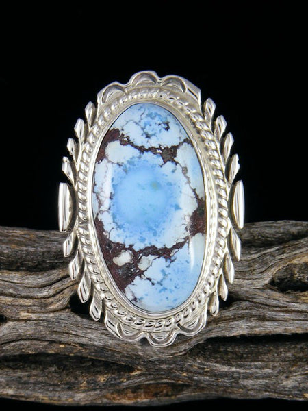 Golden Hill Turquoise Ring, Size 9 1/2