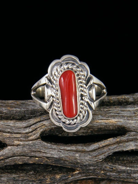 Coral Ring, Size 6 1/2