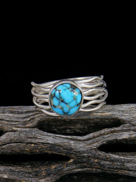Sierra Nevada Turquoise Ring, Size 7 1/4