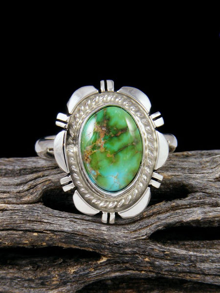 Sonoran Gold Turquoise Ring, Size 10