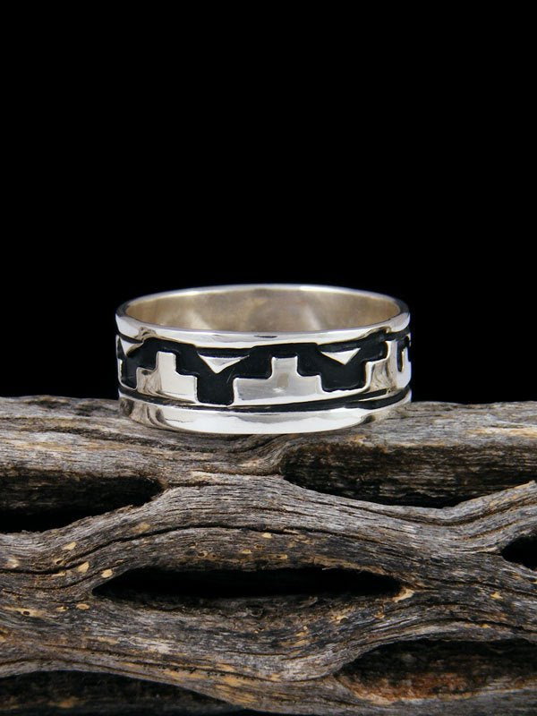 Sterling Silver Overlay Ring, Size 10 1/2