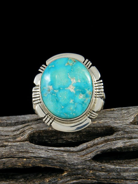 Turquoise Mountain Ring, Size 6 1/2