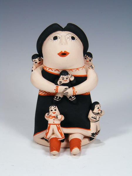 Navajo Pottery Five Baby Storyteller