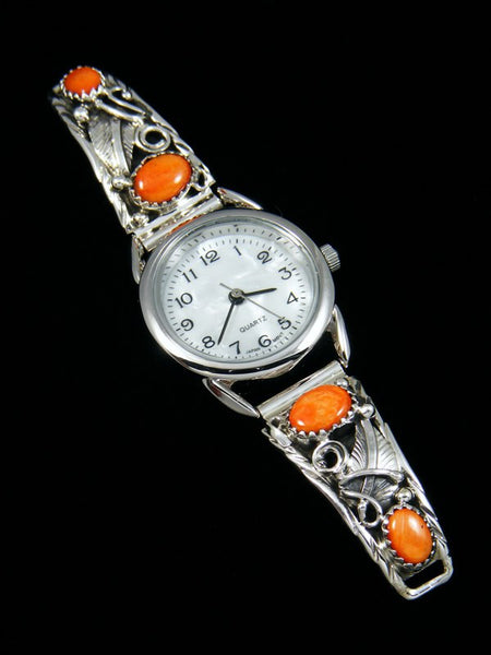 Native American Jewelry Spiny Oyster Ladies' Watch