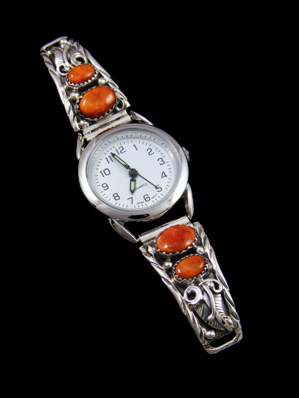 Native American Indian Spiny Oyster Ladies' Watch
