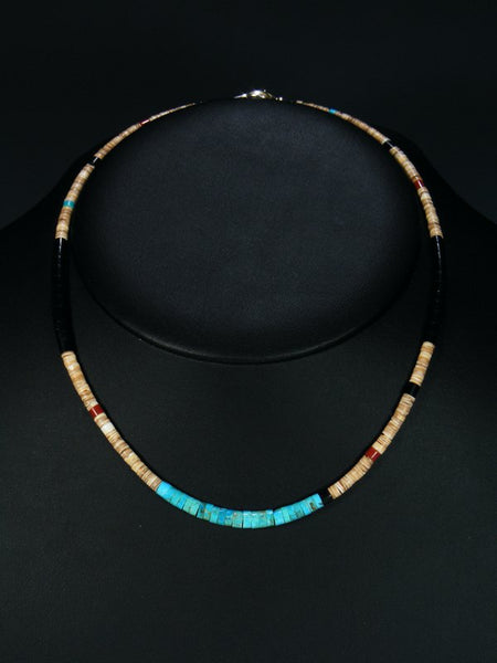 Native American Indian Santo Domingo Necklace