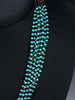 Native American  Santo Domingo Turquoise Necklace by Josephine Coriz - PuebloDirect.com - 2