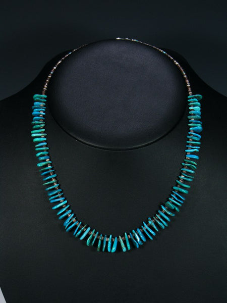 Native American Turquoise Choker Necklace