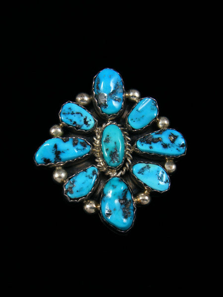Native American Jewelry Turquoise Pin