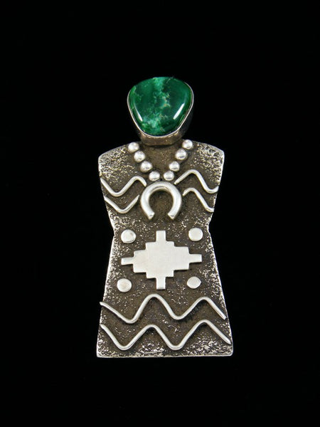 Estate Indian Jewelry Sterling Silver Pendant