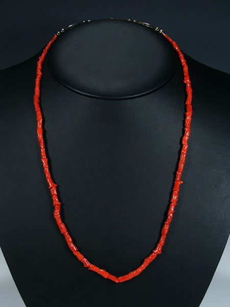 Vintage Native American Natural Coral Necklace
